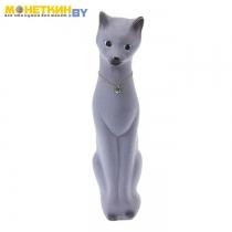 Копилка «Кошка Диана» серая