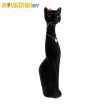 Копилка «Кошка Мурка» большая черный