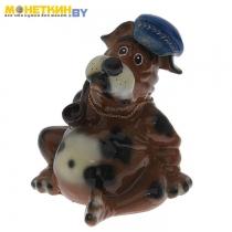 Копилка «Собака Толстопуз в кепке с трубкой» глянец