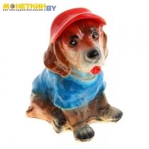 Копилка «Собака в кепке»