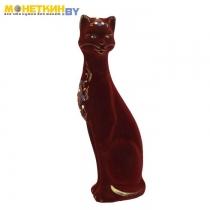 Копилка «Кошка Камила» большая бордо