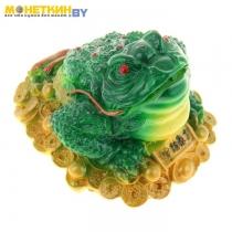 Копилка «Жаба №3» цвет зеленый