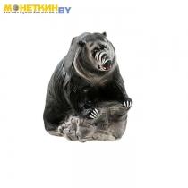 Копилка «Медведь – хозяин тайги №1» чёрный