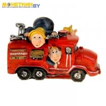 Копилка «Пожарная машина»