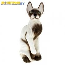 Копилка «Кот Сфинкс» белый – коричневый