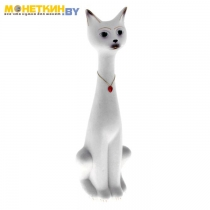 Копилка «Кот Сильвестр» белый