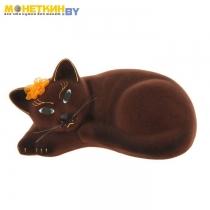Копилка «Кошка Соня» коричневый