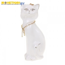 Копилка «Кошка Матильда» белая