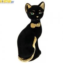 Копилка «Кошка Мурка» булат черный