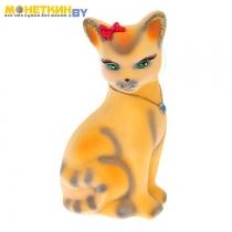 Копилка «Кошка Лиза» рыжый