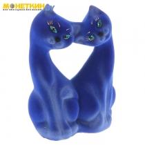 Копилка «Коты Поцелуй» синие