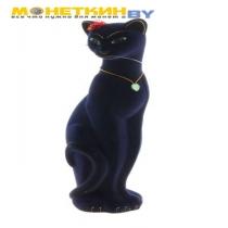 Копилка «Кошка Багира» малая синяя