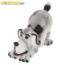 Копилка «Собака Ричард» серый