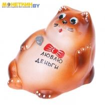 Копилка «Кот: люблю деньги»