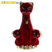 Копилка «Кошка с Котятами» булат бордо
