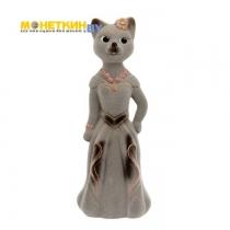 Копилка «Кошка Миледи» серый