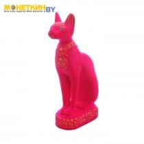 Копилка «Кот Сфинкс» розовый