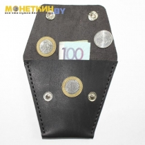Монетница «Трапеция» чёрная