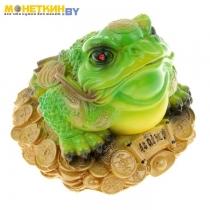 Копилка «Жаба №1» зеленая