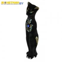 Копилка «Кошка Багира» большая новая черная