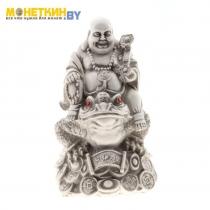 Копилка «Будда на жабе» антик