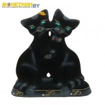 Копилка «Коты Танцующие» черный