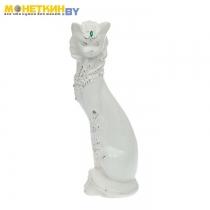 Копилка «Кот Васька» белая глазурь