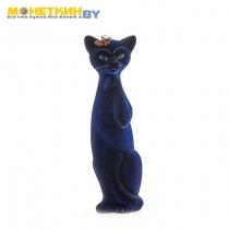 Копилка «Кошка Алиса» синий