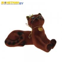 Копилка «Кот Васька» коричневый
