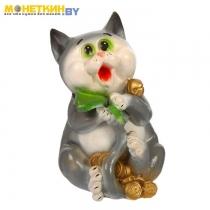 Копилка «Кот с деньгами»