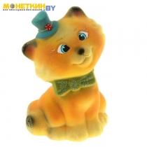 Копилка «Котик Шляпка» желтый