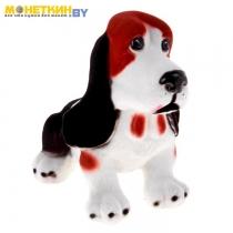 Копилка «Собака Бассед – Хаунд» рыжий