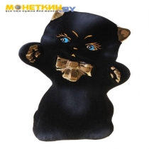 Копилка «Котик с бантиком»