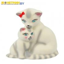 Копилка «Кошка с котенком»