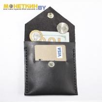 Монетница «Прямоугольник» чёрная