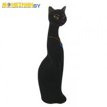 Копилка «Кошка Мурка» малая черный цвет