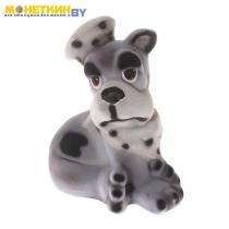 Копилка «Собака Повар» серый