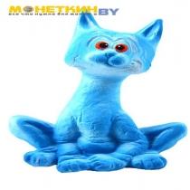Копилка «Кот Витёк №2» голубой