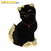 Копилка «Кошка Сима» черный