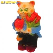 Копилка «Кот Франт» малый рыжий