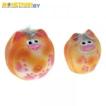 Копилка «Коты Пузыри» набор 2шт желтые