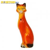 Копилка «Кошка Камила» средняя глянец оранжевый