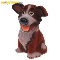 Копилка «Собака Джек» коричневый