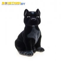 Копилка «Собака Питбуль» черный