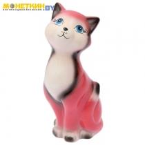 Копилка «Кот Люла» цветной розовый