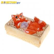 Копилка «Котёнок в коробке»