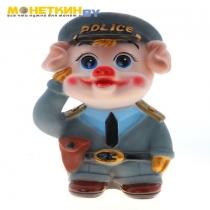 Копилка «Свинка – полицейский»