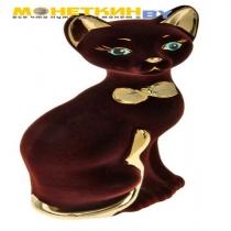 Копилка «Кошка Мурка» коричневая