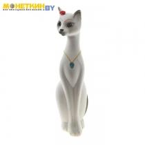 Копилка «Кошка Мурка» малая белая