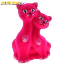 Копилка «Коты вместе» цвет